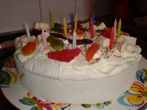 Calebs Birthday Pavlova