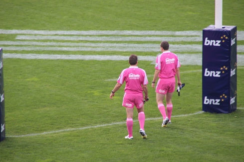 Judges in pink - great!